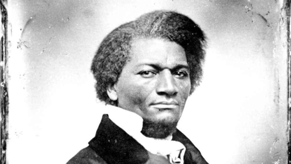 Abolitionist Frederick Douglass in an undated photo. (AP)