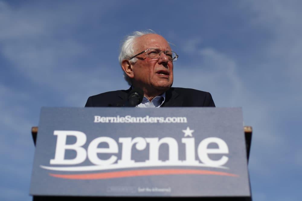 Sen. Bernie Sanders. (Paul Sancya/AP)