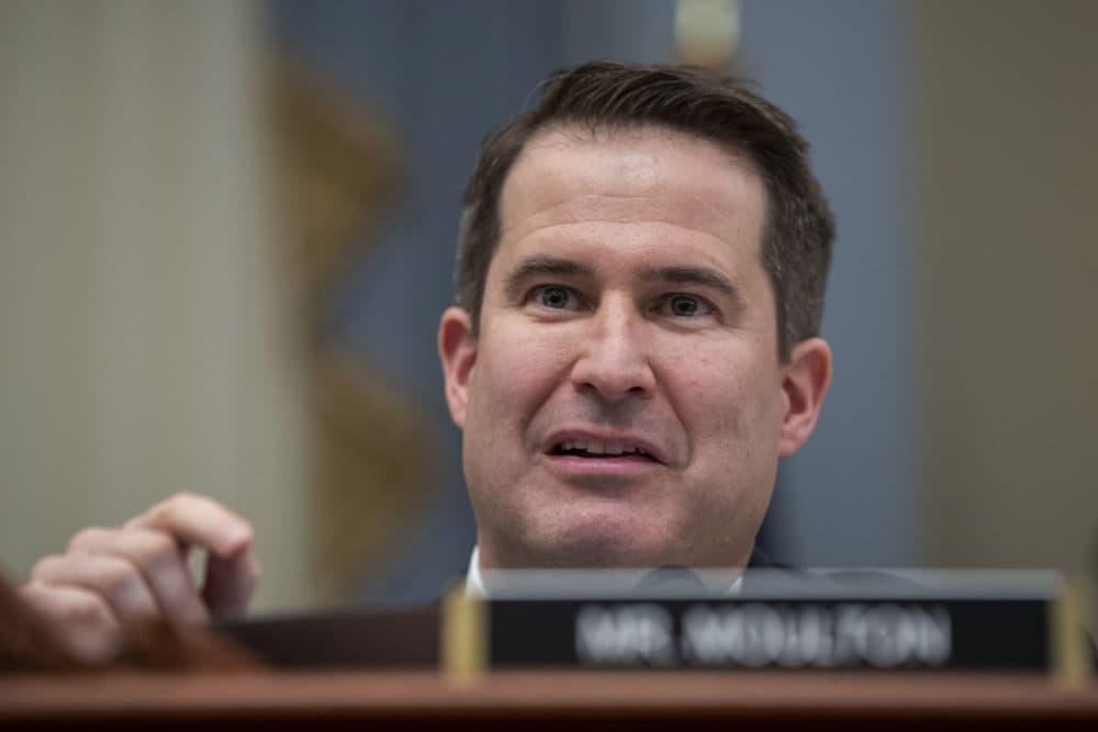 Rep. Seth Moulton, D-Mass.(Alex Brandon/AP)
