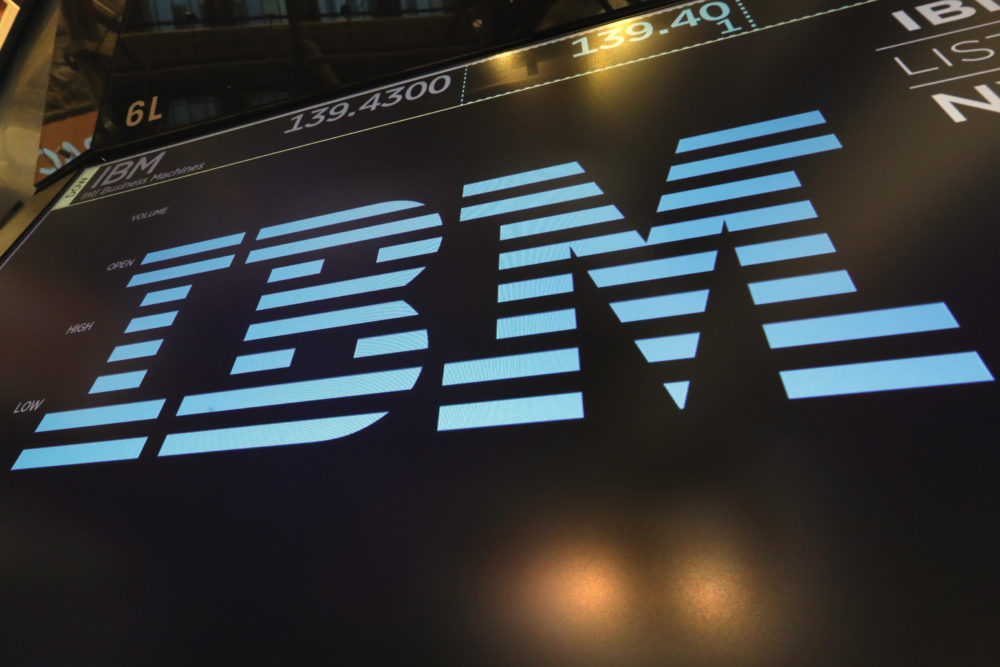 A consortium of businesses led by IBM in partnership with the federal government are working on research into the coronavirus with the help of supercomputers. (Richard Drew, AP)