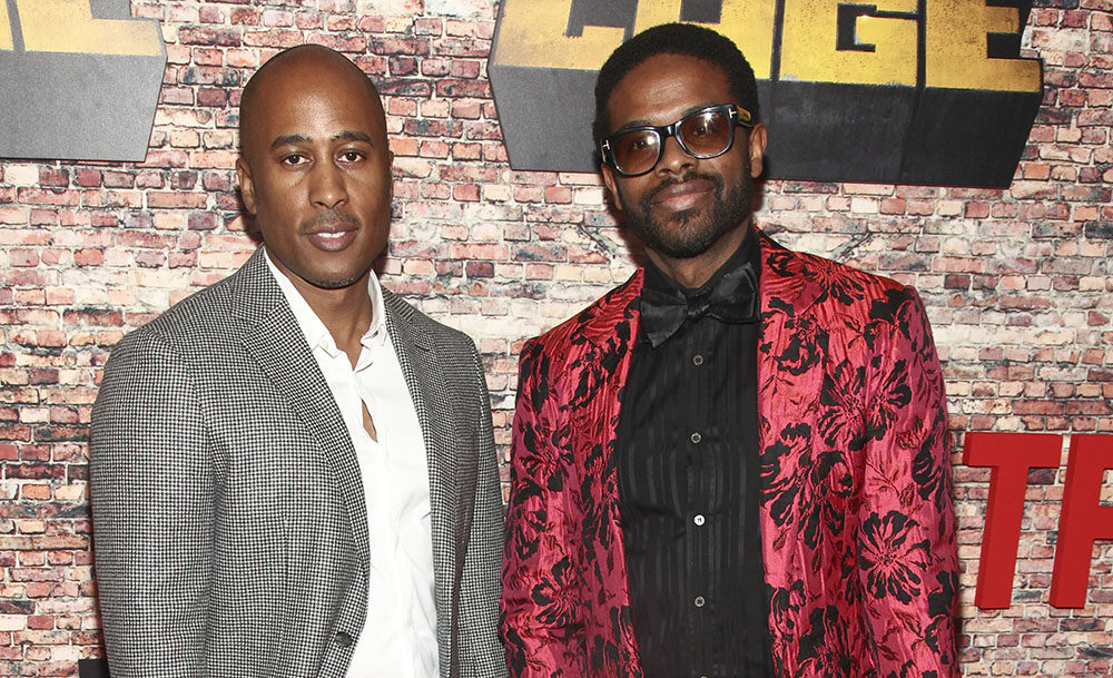 Ali Shaheed Muhammed (left) and Adrian Younge (right). (Andy Kropa/Invision/AP)