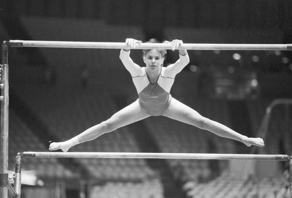 Jennifer Sey says more must be done to stop verbal and emotional abuse in the gymnastics community. (Doug Pizac/AP)