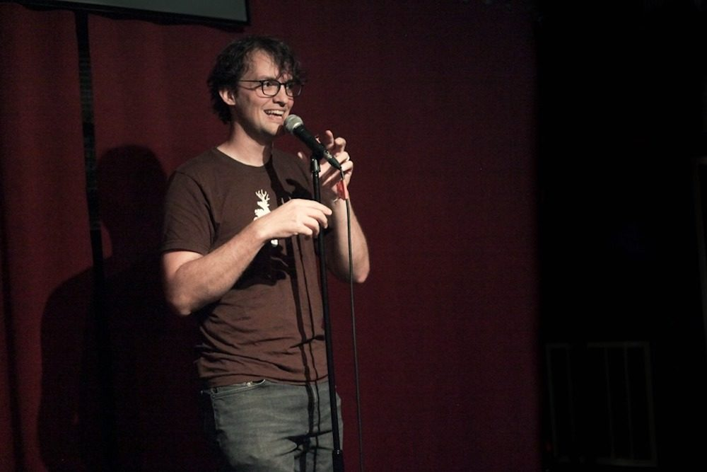 Comedian Andrew Mayer (Courtesy Katy Hamm)