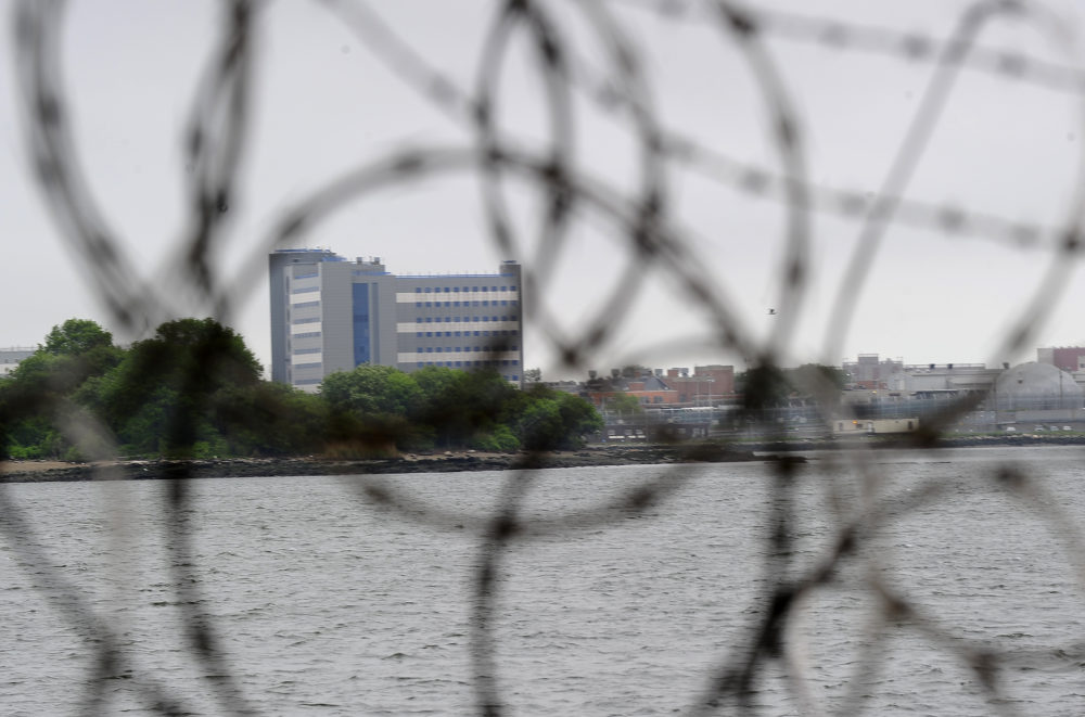 A view of buildings at the Rikers Island penitentiary complex in New York on May 17, 2011. (Emmanuel Dunand/AFP/Getty Images)