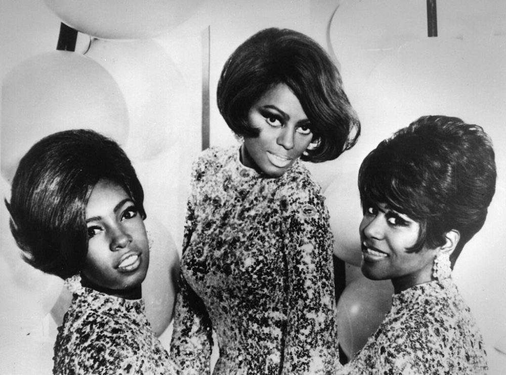 Diana Ross and the Supremes in 1968.(Keystone/Getty Images)
