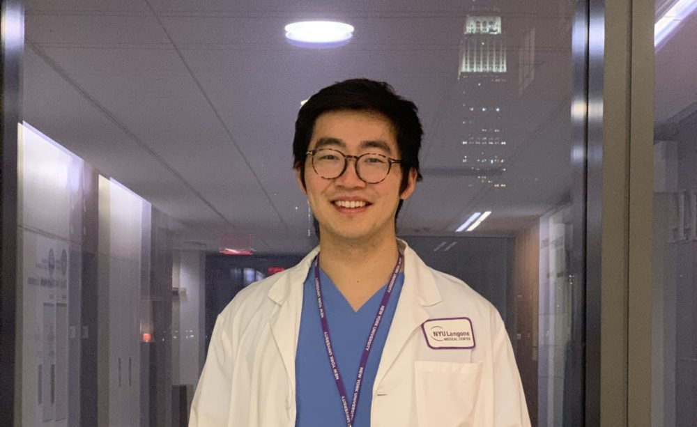 Dr. Chen Fu, a hospitalist at NYU Langone Medical Center, wrote about his experience with racism in the TIME. (Courtesy)