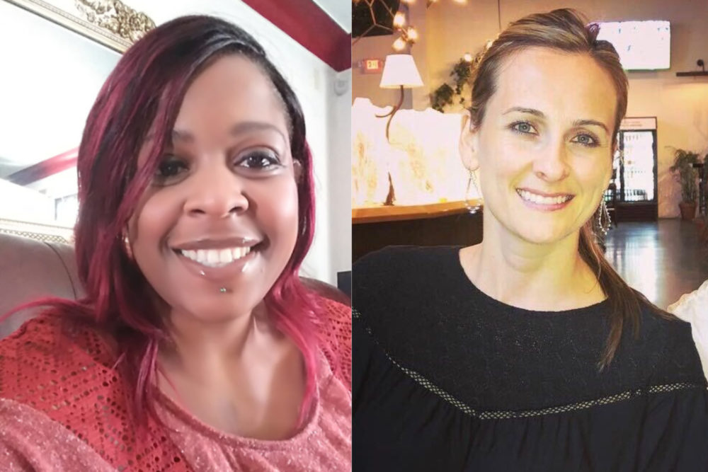 Sabrina Lee (left) and Daniella Humphreys (right). (Courtesy)