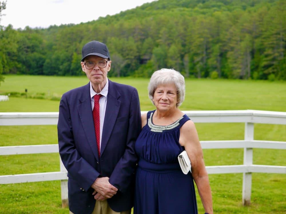 Deborah Coogan and her husband, Peter Coogan. Peter passed away last week from COVID-19. (Courtesy: Deborah Coogan)