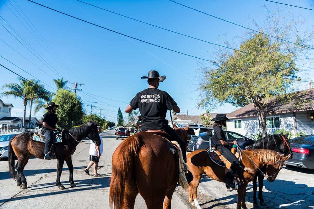 Compton Christmas Parade 2020 Compton's Black Cowboys Ride To Reclaim Their Legacy | NCPR News