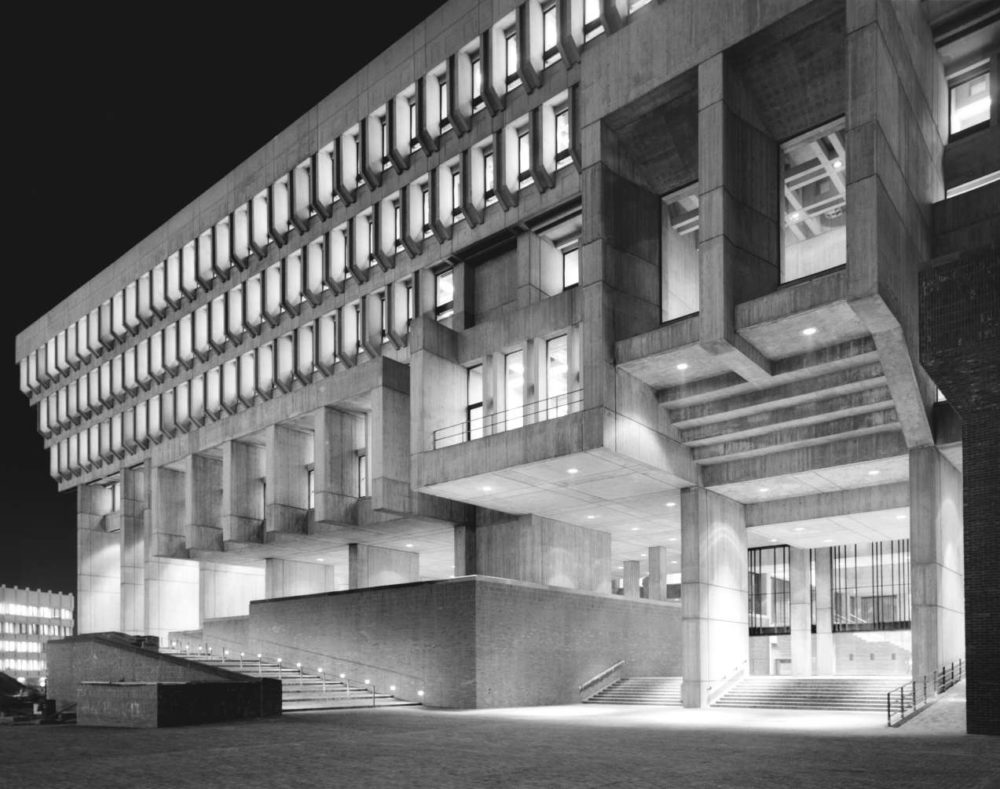 Boston City Hall, Architect: Kallmann McKinnell (Courtesy © Ezra Stoller/Esto)