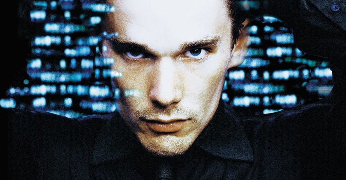"Ethan Hawke in Michael Almereyda's 2000 adaptation of ""Hamlet."" (Courtesy JustWatch)"