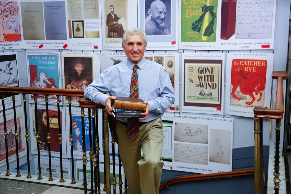 Ken Gloss, the proprietor of the Brattle Book Shop. (Photo: Jeffrey Dunn)