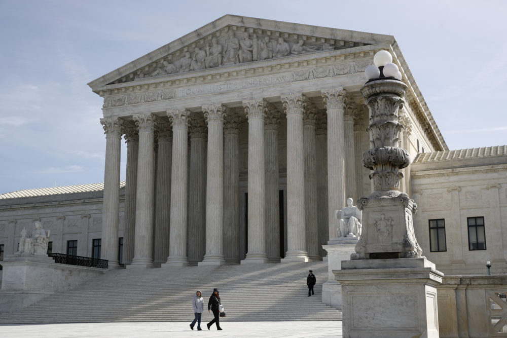The Supreme Court in Washington. (Patrick Semansky/AP)