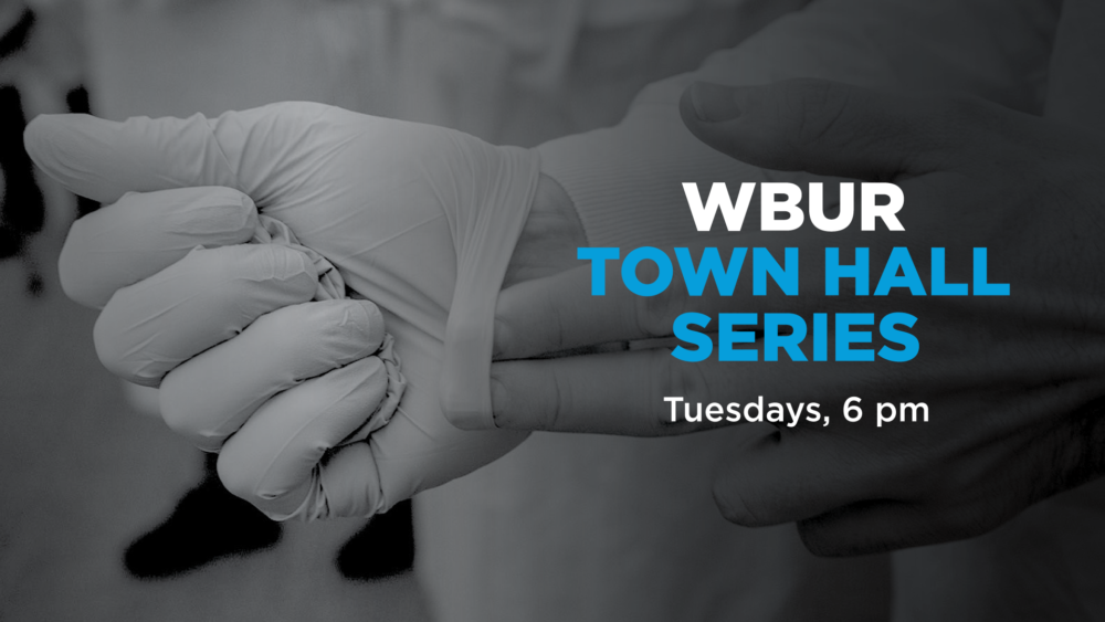 Free and open to the public, the WBUR Town Hall series will be virtual events held Tuesdays at 6 p.m.