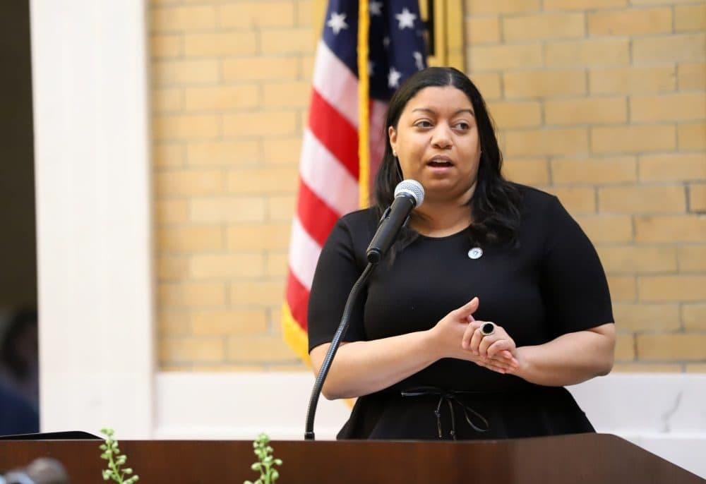 Rep. Liz Miranda. (State House News Service)