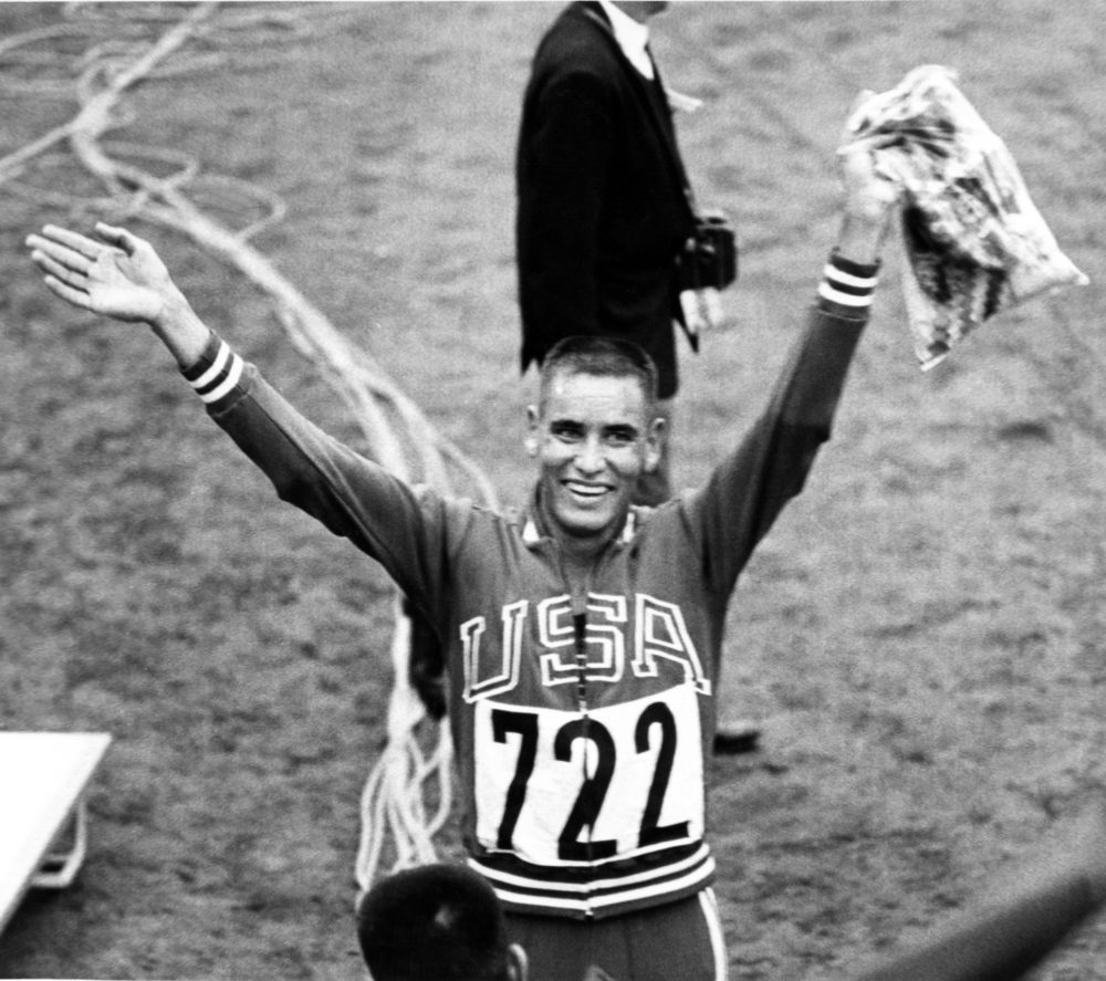 Billy Mills was a major underdog in the 10,000 meter race at the 1964 Tokyo Games. (AP)