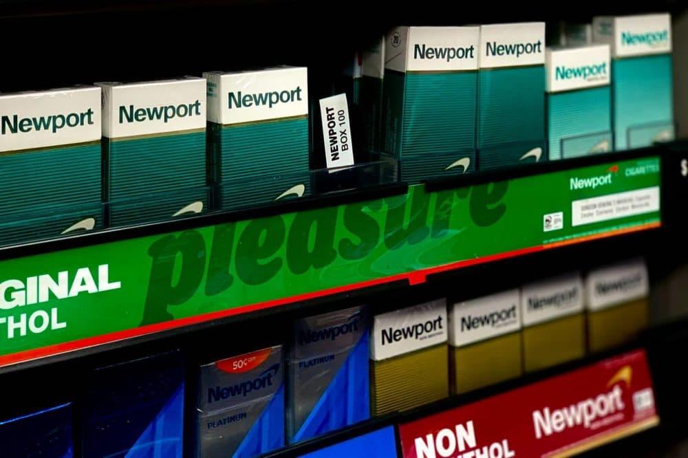 Menthol cigarettes. (Jesse Costa/WBUR)