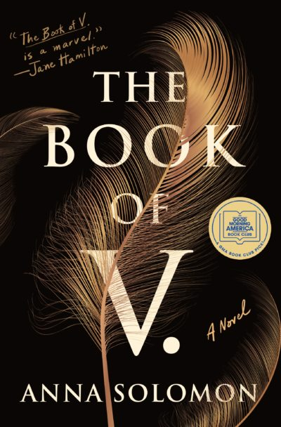 "Cover of ""Book of V."" by Anna Solomon. (Courtesy Henry Holt and Co.)"