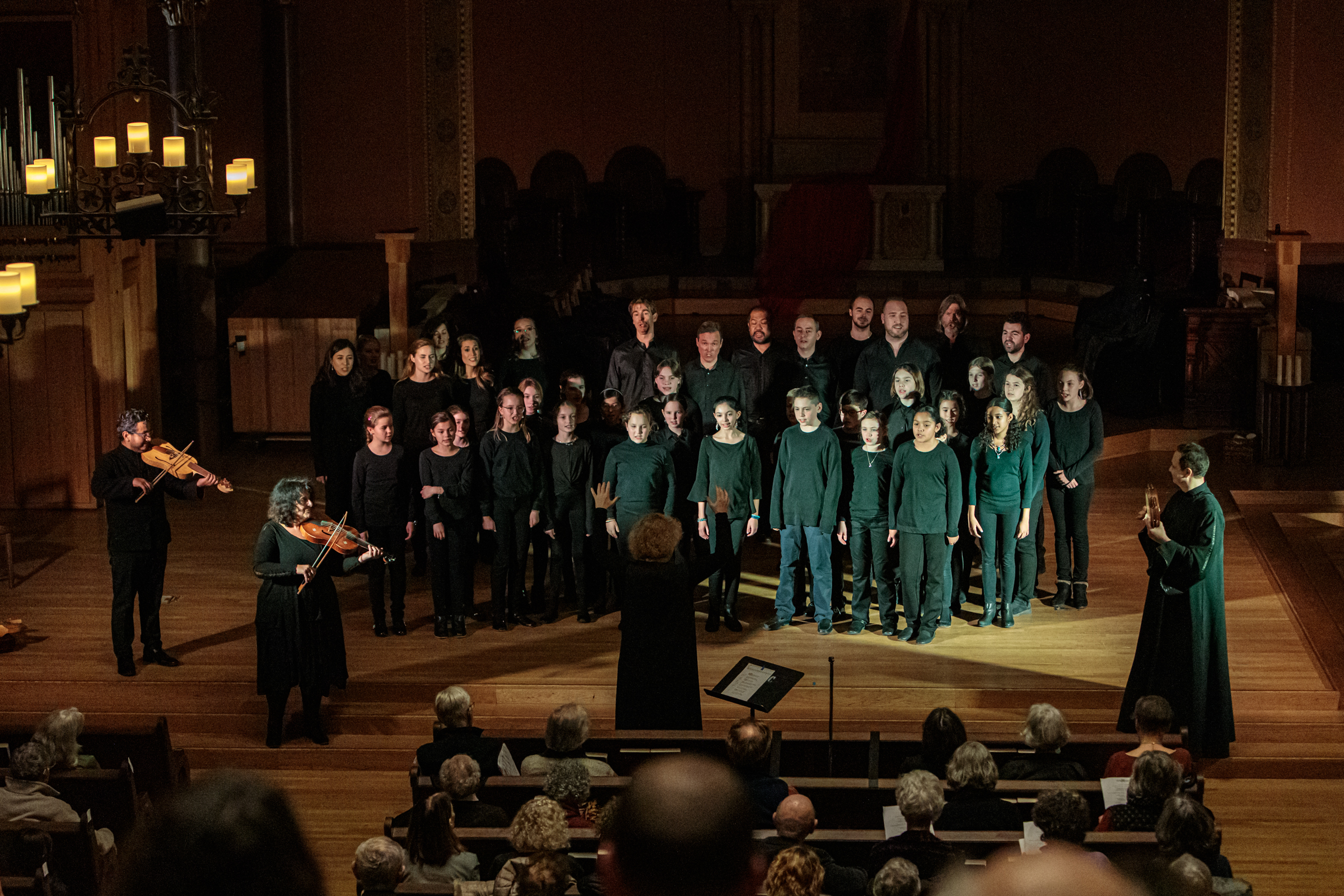 """The Boston Camerata presented """"Daniel - A Medieval Masterpiece Revisited"""" at First Church in Cambridge on Jan. 25, 2020. (Courtesy Dan Busler)"""
