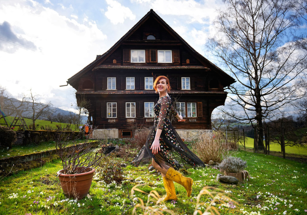 Gabriela Martina's new album is a tribute to her childhood home in the Swiss Alps. (Courtesy Gabriela Martina)