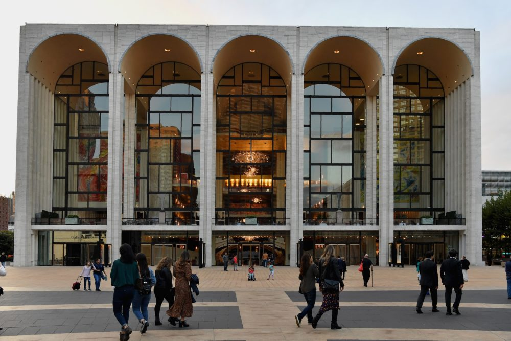 The head of the Metropolitan Opera in New York City invoked a contract clause and laid off all unionized workers in the wake of government restrictions on large gatherings due to the coronavirus pandemic. (Angela Weiss/AFP/Getty Images)