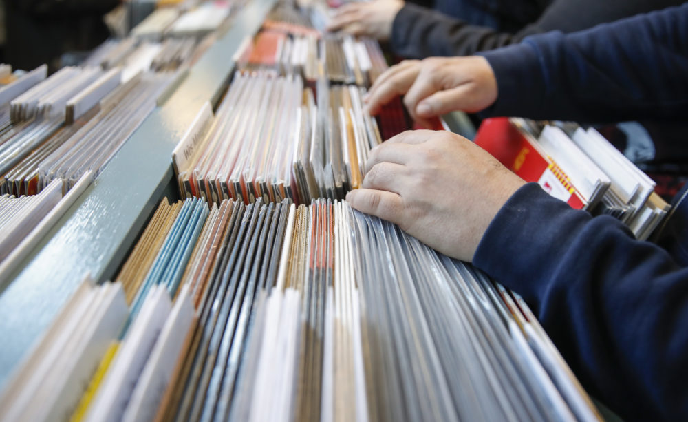 Seattle's Bop Street Records, once one of the top five record stores in the nation, is closing its doors at the end of June after over 30 years in business. (Kamil Krzaczynski/ AFP via Getty Images)