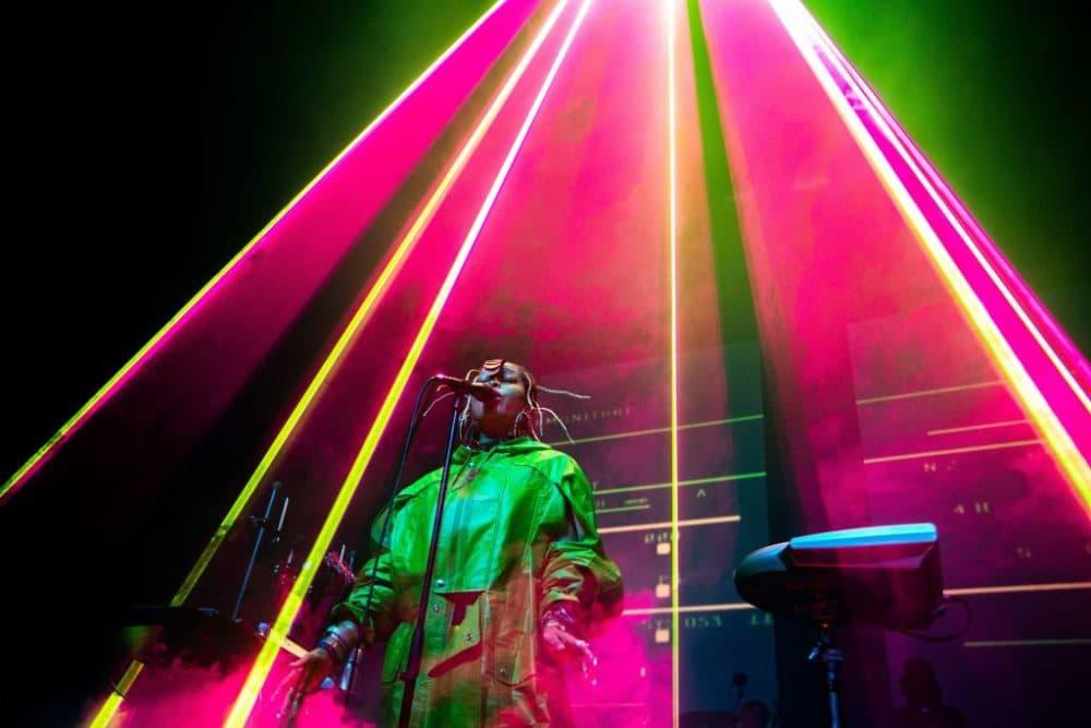 Singer Erykah Badu. (Paul Bergen/AFP/Getty Images)
