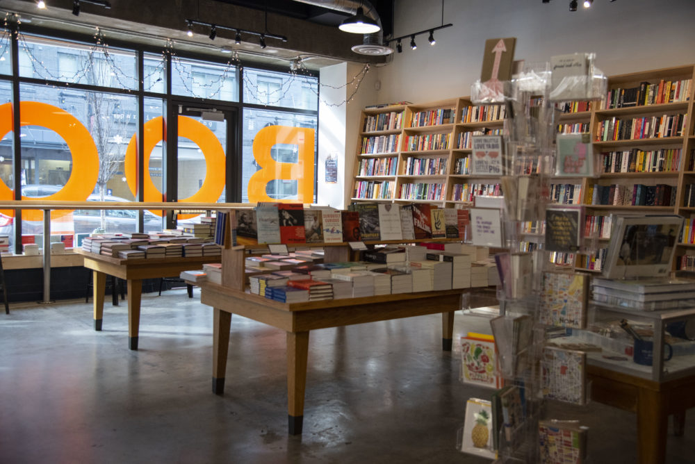 Solid State Books, an independent bookstore in the H Street Corridor, is photographed in Washington, D.C. on February 16, 2019. (Calla Kessler for The Washington Post via Getty Images)