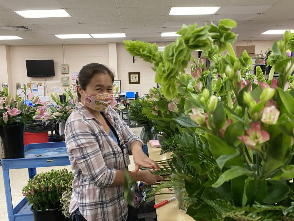 Jennie Yee, a floral designer at Watanabe Floral (Courtesy)