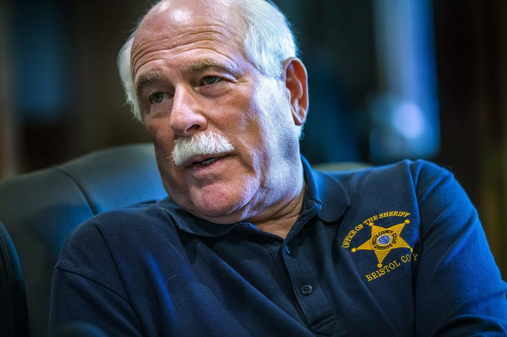 Bristol County Sheriff Thomas Hodgson. (Jesse Costa/WBUR)