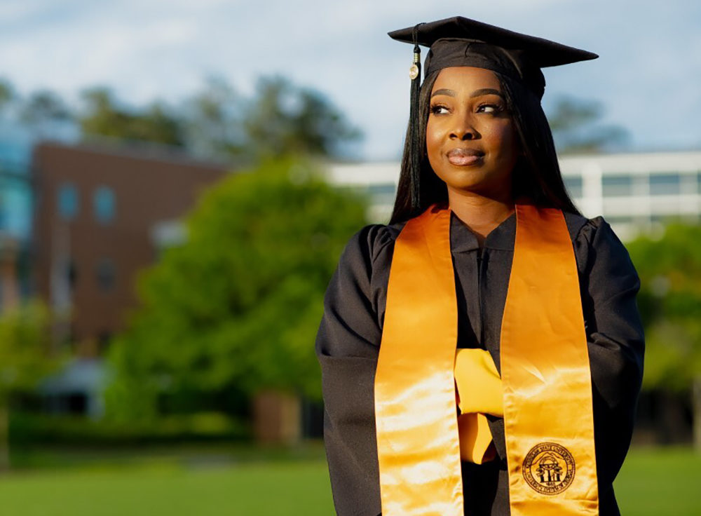 Jontanna Greene, a first-generation college grad of Kennesaw State University (Courtesy)