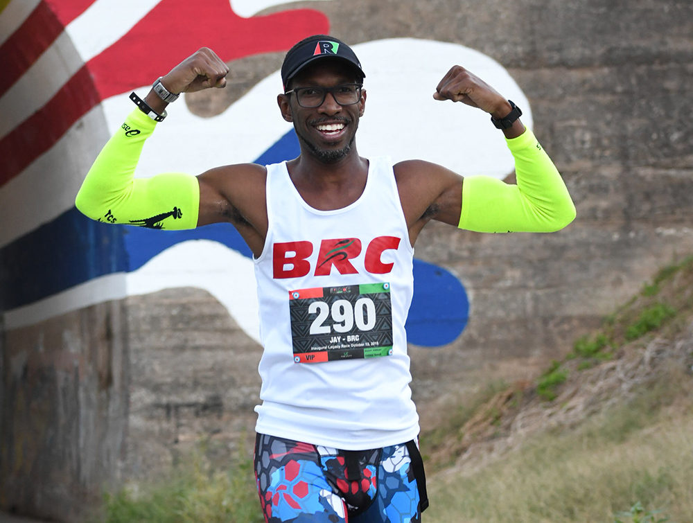 James Ravenell II, runner and co-founder of Black Runners Connection (Courtesy)