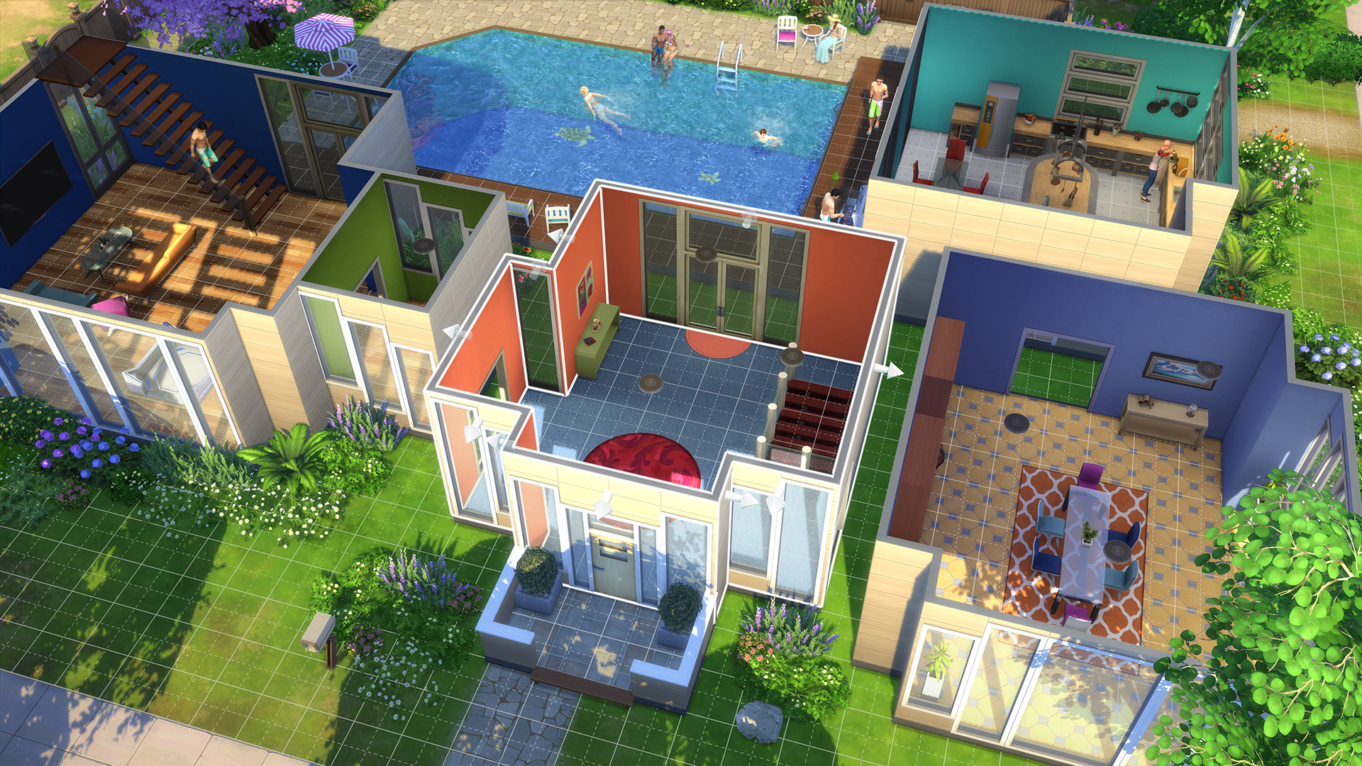A still from The Sims 4. (Courtesy Electronic Arts)