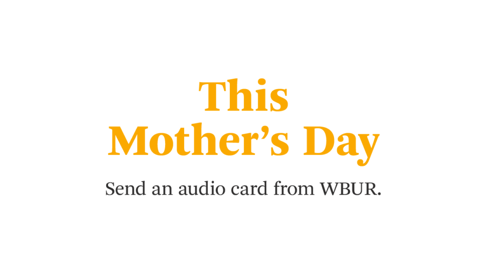 Do something meaningful by sending Mom a heartfelt audio card that supports public radio.