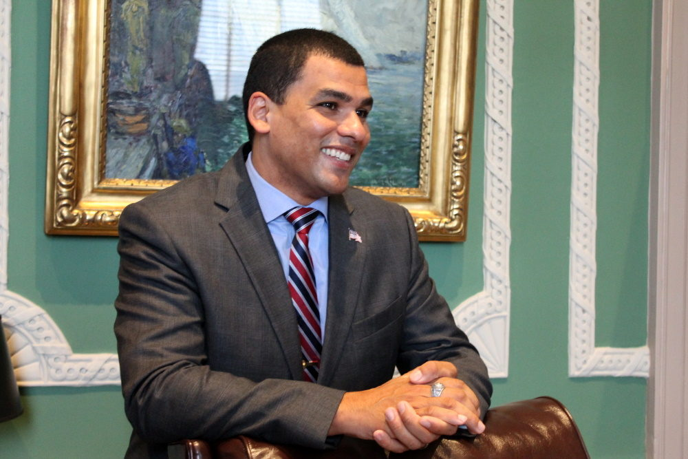 Secretary of Veteran Affairs Francisco Urena, pictured in 2016. (State House News Service)