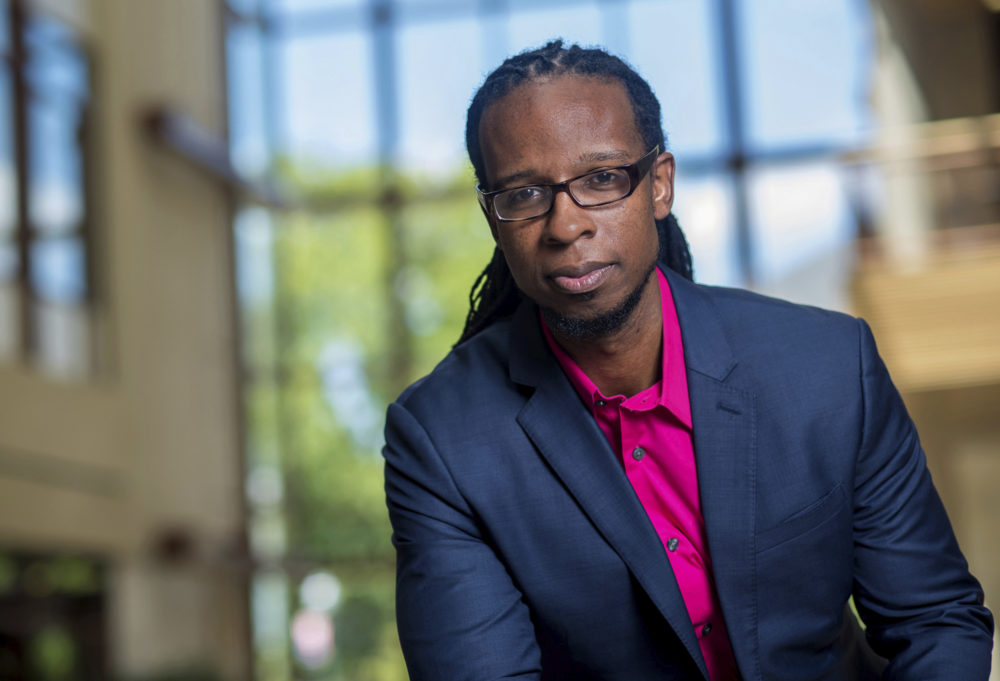 Ibram X. Kendi is set to join the Boston University faculty and lead the school's new center for anti-racism research. (Jeff Watts/American University via AP)