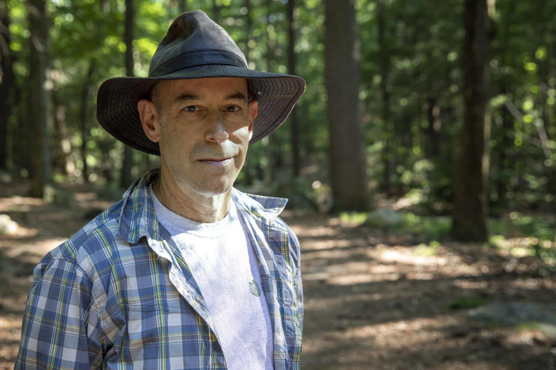Frank Lowenstein, deputy director of the New England Forestry Foundation. (Robin Lubbock/WBUR)
