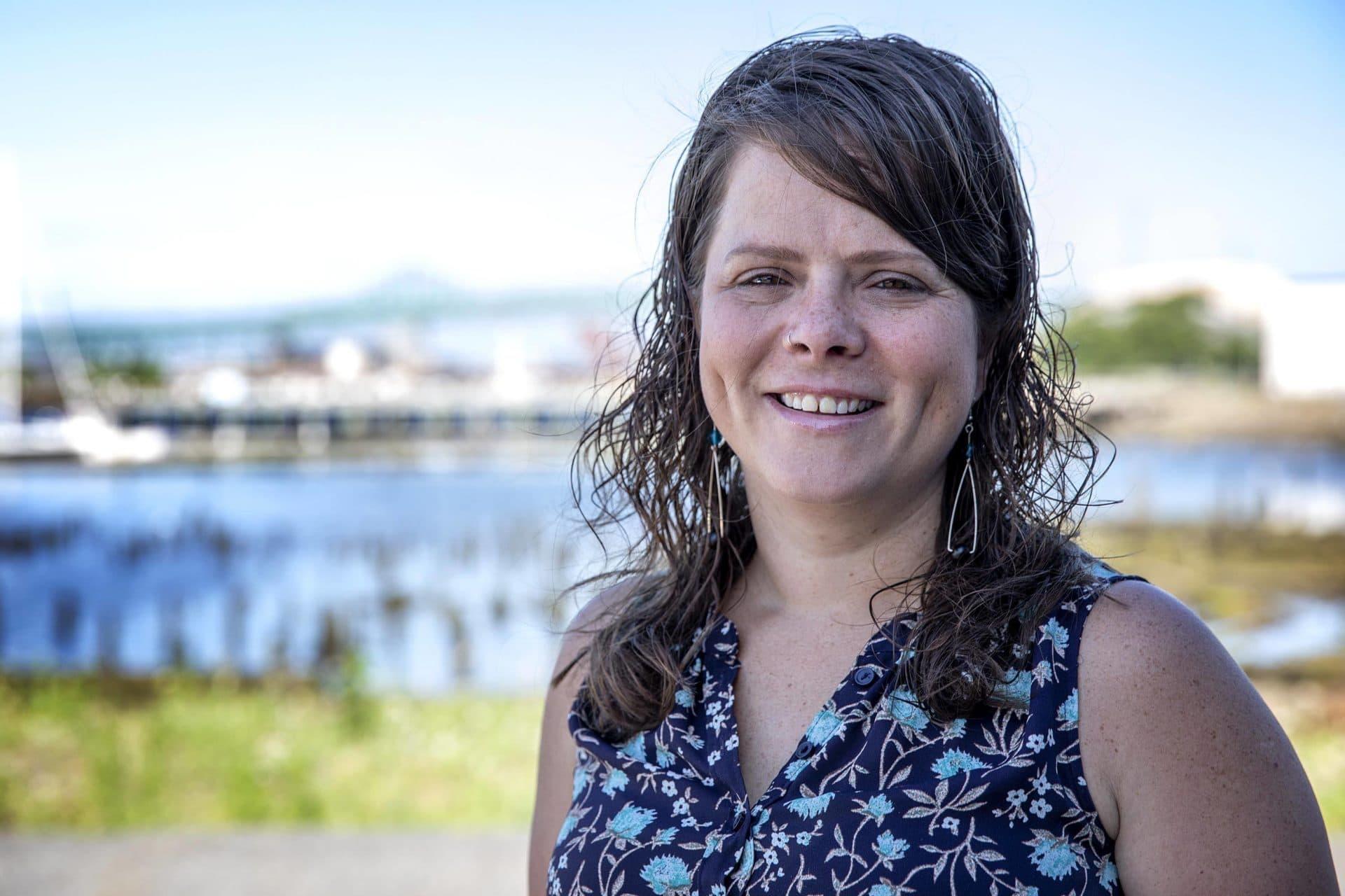 GreenRoots Associate Executive Director Maria Belen Power. (Robin Lubbock/WBUR)