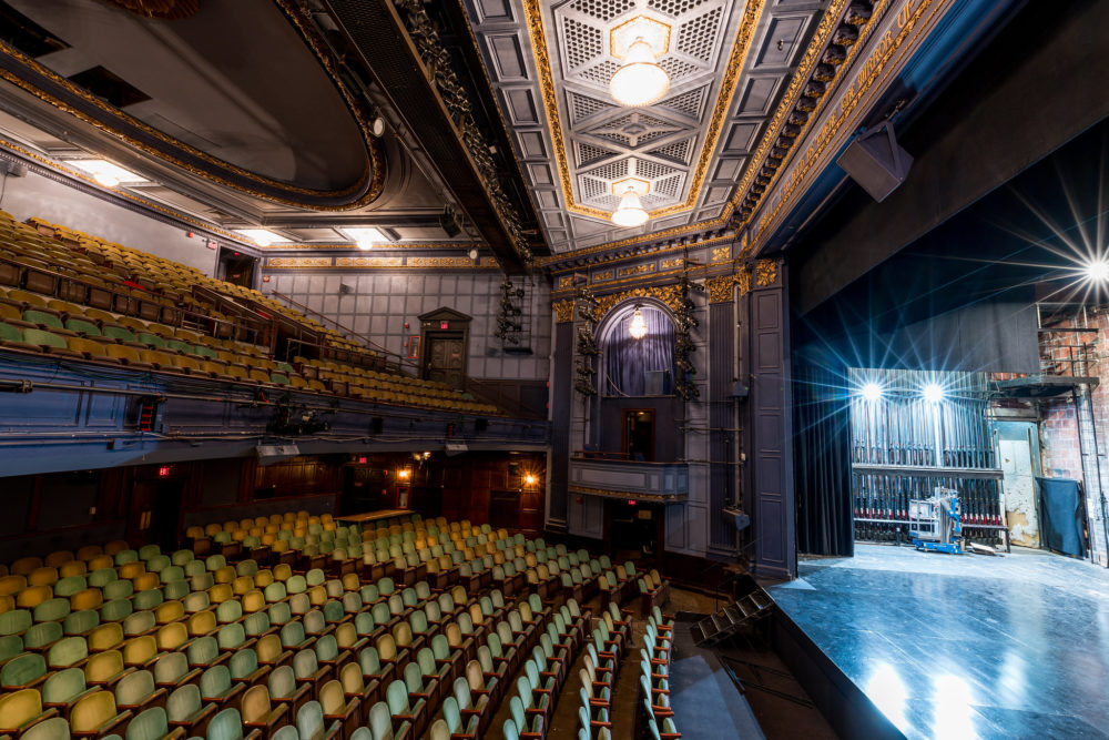 Interior of the Huntington Avenue Theatre. (Courtesy Nile Hawver/Nile Scott Shots)