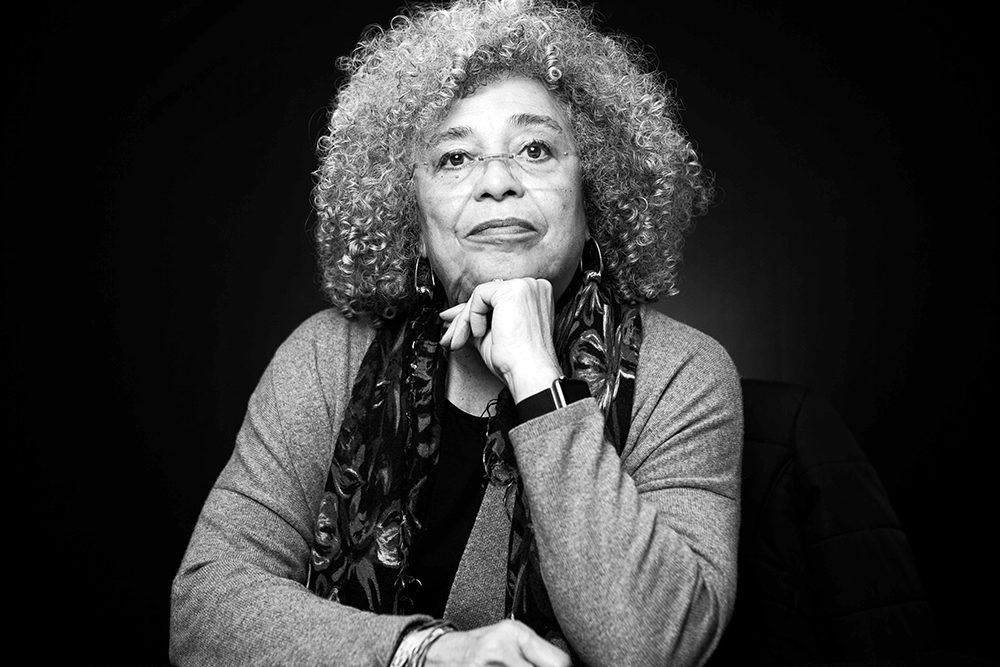 Political activist, philosopher, professor, and author Angela Davis (Courtesy)