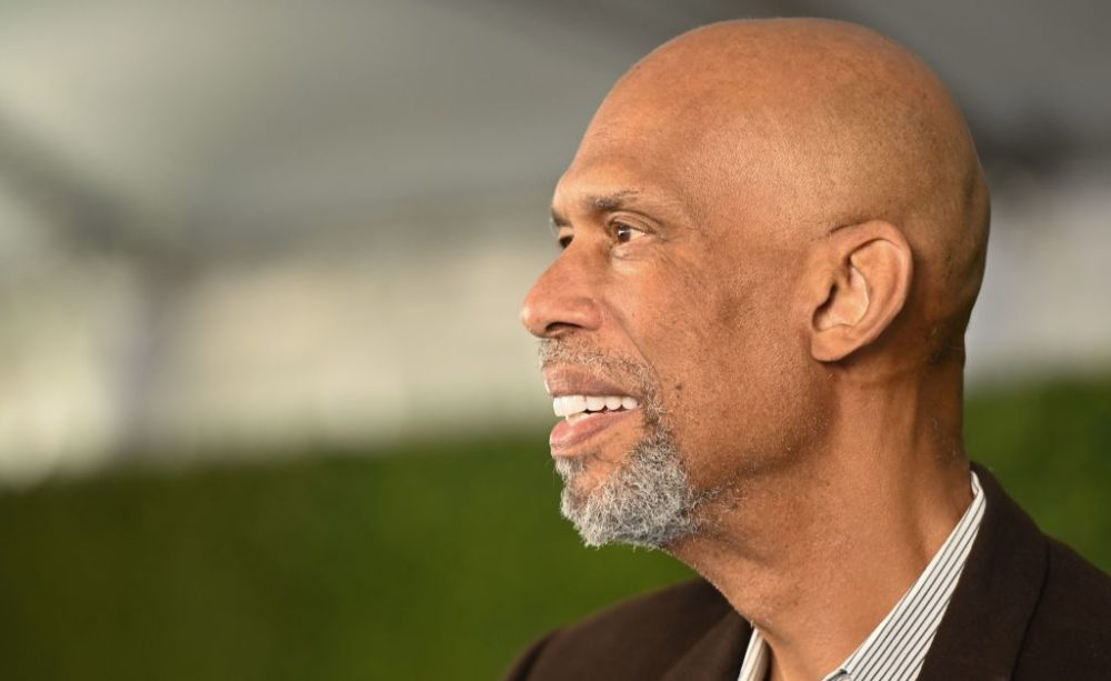 Since Kareem Abdul-Jabba boycotted the Summer Olympics in 1968, he's been vocal in highlighting the racial injustices in the U.S. (Robyn Beck/AFP/Getty Images)