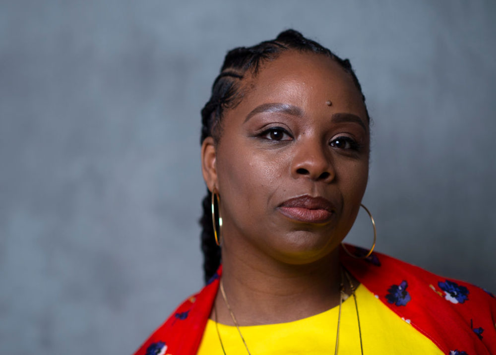 Co-founder of Black Lives Matter Movement Patrisse Cullors at the United State of Women Summit  in 2018. (Valerie Macon/AFP/Getty Images)