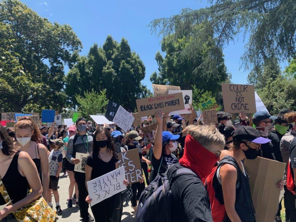 www.wbur.org: In Los Angeles, Protests Highlight Growing Cross-Racial Solidarity