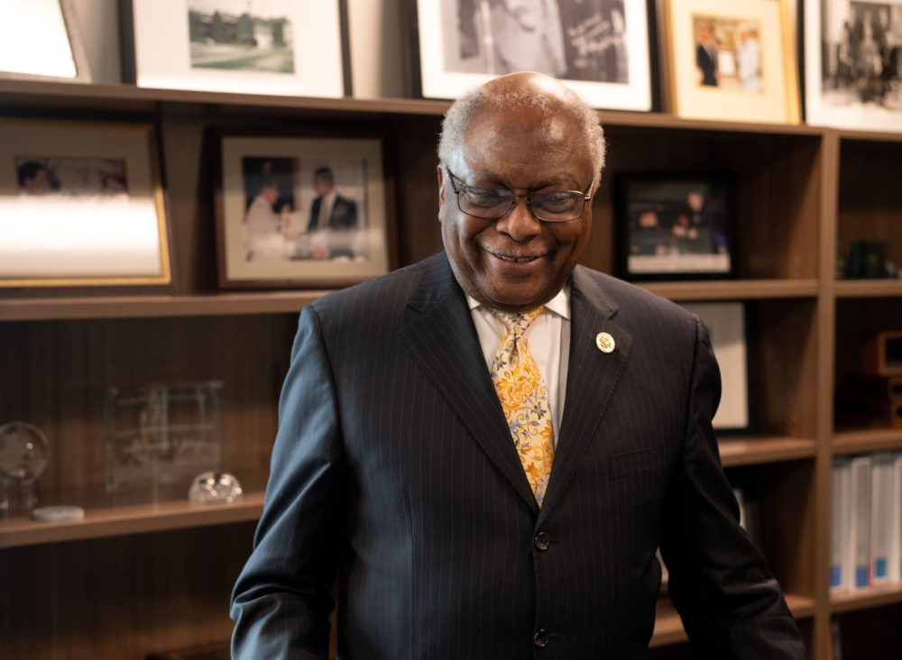 South Carolina Rep. Jim Clyburn. (Alvin C. Jacobs for Here & Now)