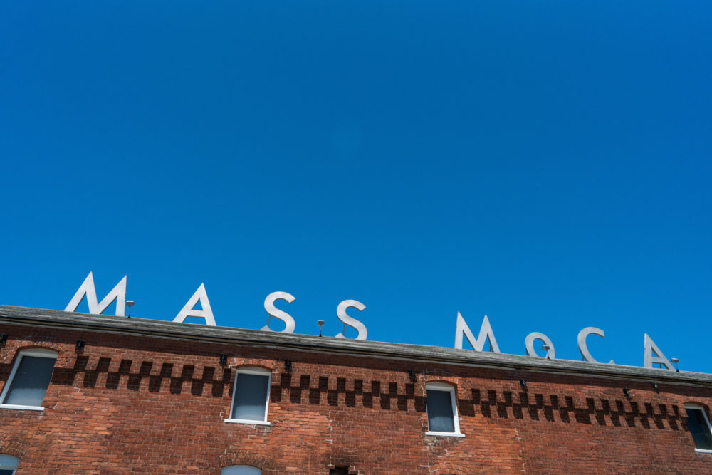 Mass MoCA sits on 16 acres in North Adams, Mass. (Courtesy Mass MoCA/Kaelan Burkett)