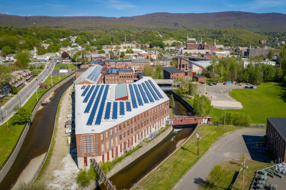 MASS MoCA is housed in a series of 19th century mill buildings and typically attracts 300,000 annual visitors. (Courtesy MASS MoCA/Douglas Mason)