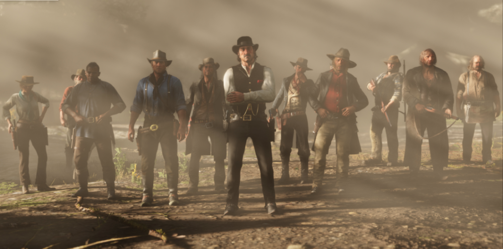 "A screenshot from ""Red Dead Redemption 2,"" the video game where Nate Crowley is trying out his work meetings. (Screenshot of Red Dead Redemption 2)"