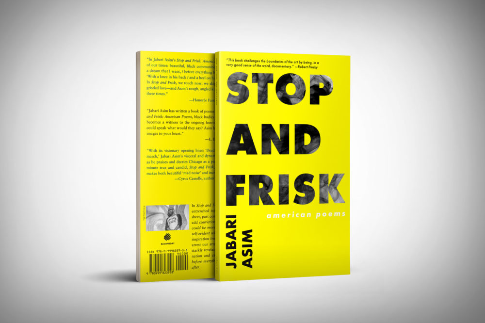 Jabari Asim's latest book of poetry about the Black experience in America, called Stop and Frisk, comes out July 19. (Courtesy Jabari Asim)