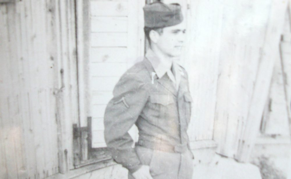 The author's father in the U.S. Army in about 1944. (Courtesy)