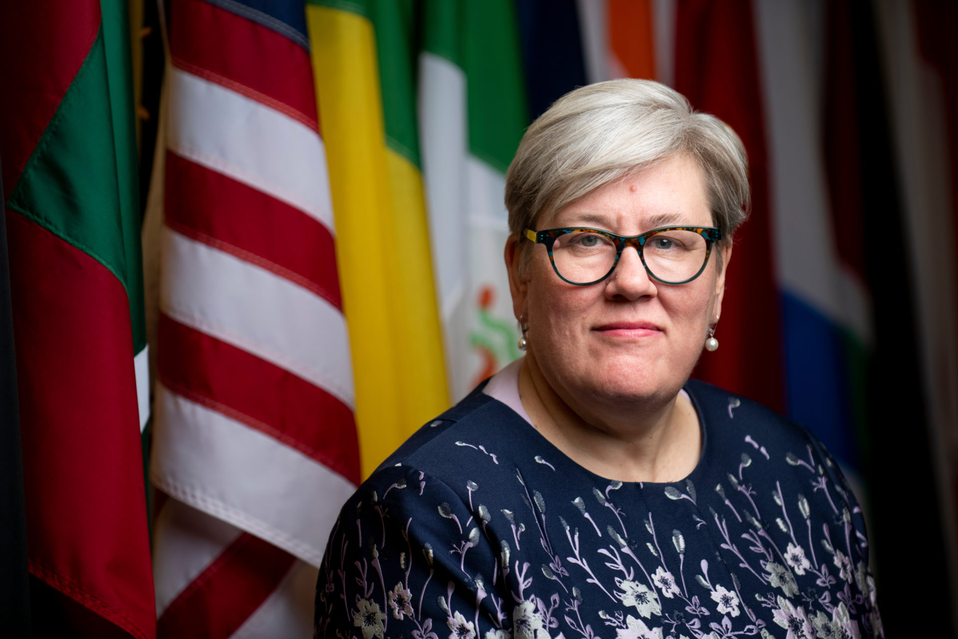 Rachel Kyte, dean of the Fletcher School of Law and Diplomacy at Tufts University. (Courtesy Alonso Nichols/Tufts University)
